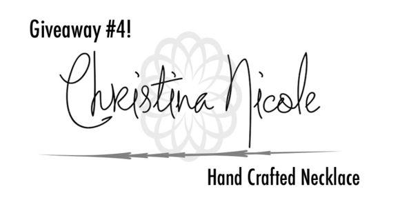Christina Nicole Giveaway!