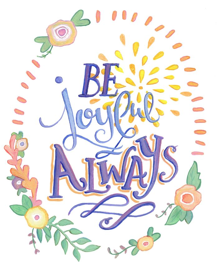 Be Joyful Always - web