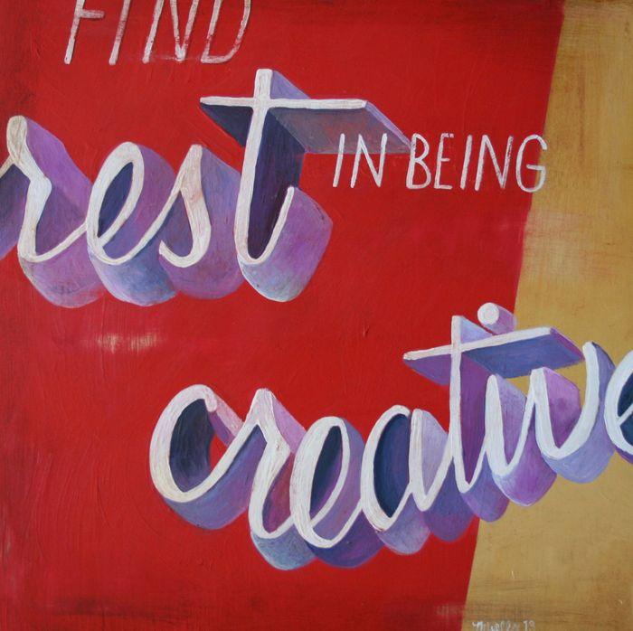 Rest in Creative - Megan Wells