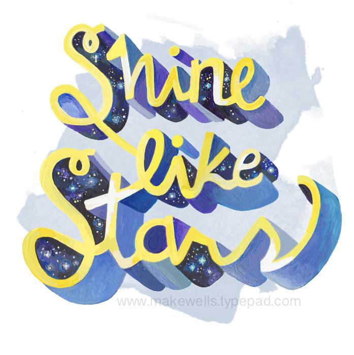 Shine like Stars - Makewells web
