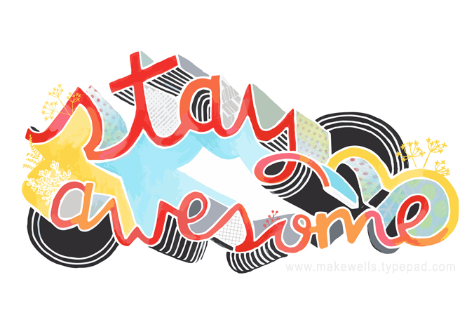 Stay Awesome web
