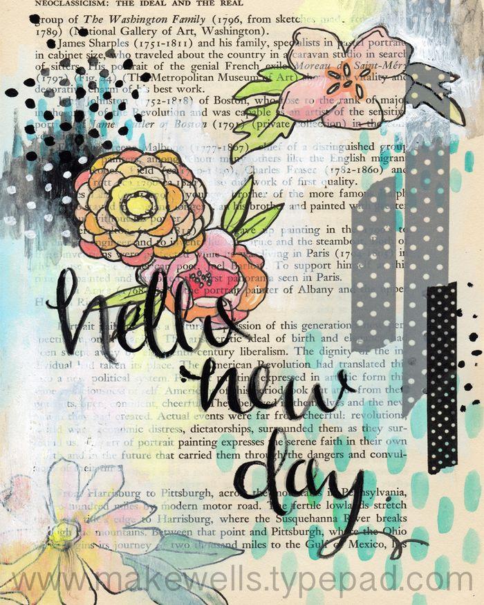 Hello New Day - Makewells web