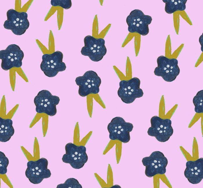 Flutteryfloral pattern (web)