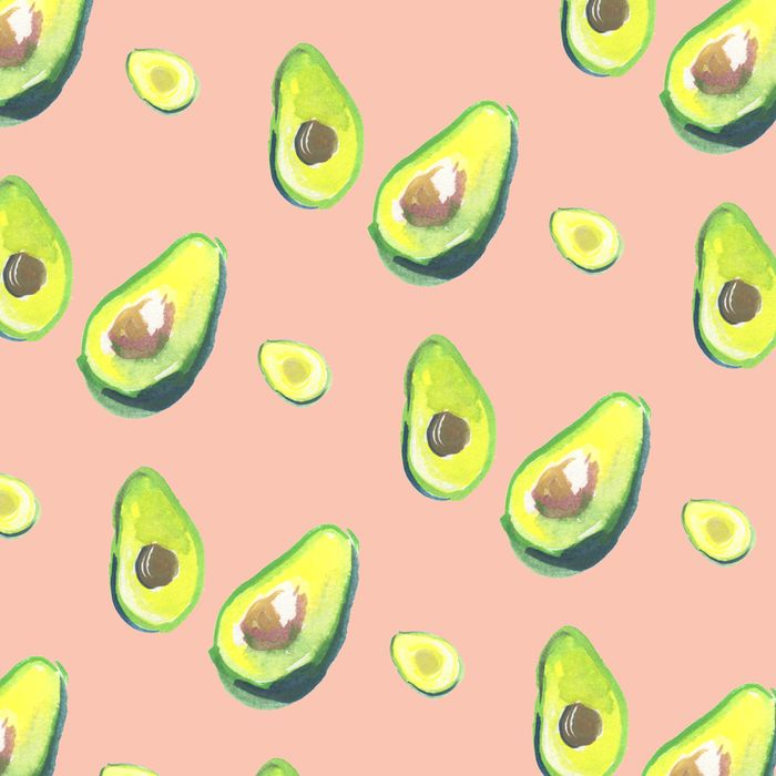 Avocado pattern1