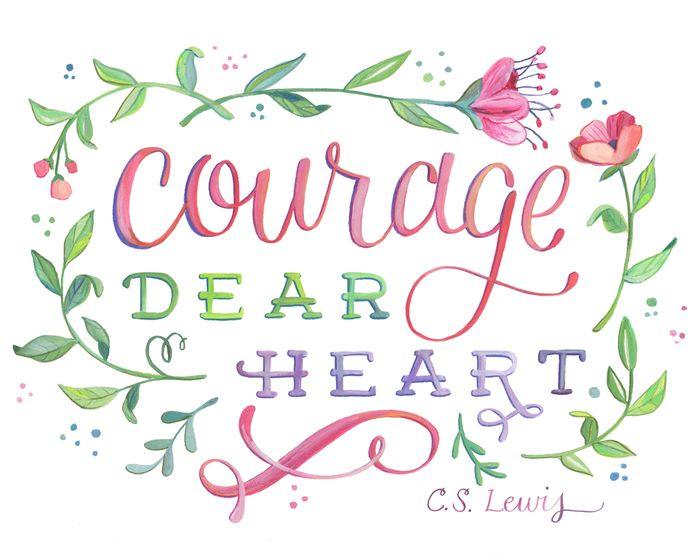 Courage Dear Heart - web